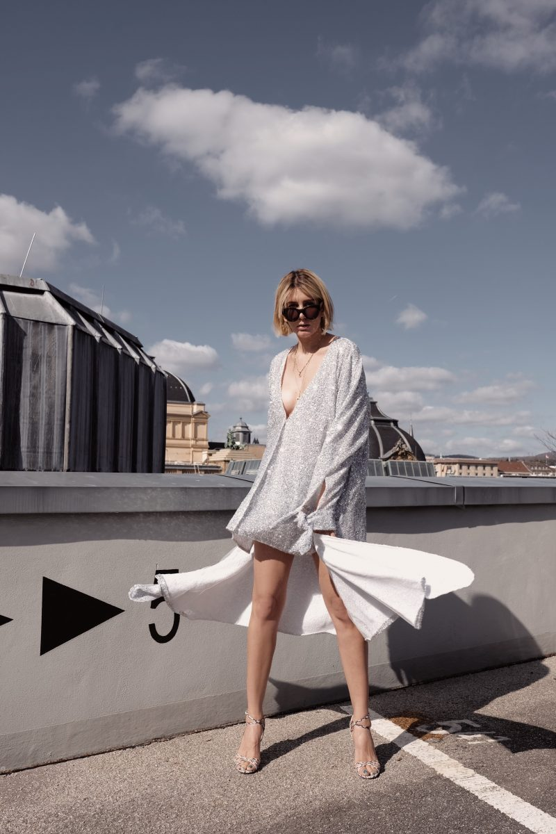 #bemoreextra – Sequin dress by Attico